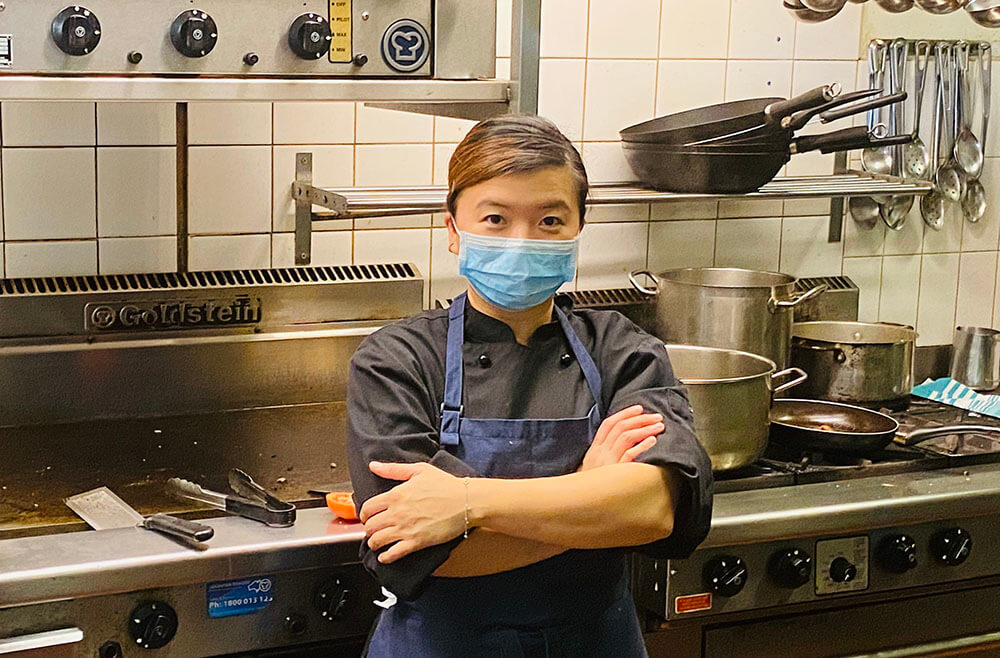 Ashley Piglet Head Chef